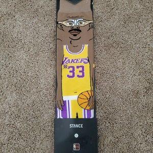 STANCE NBA Socks Kareem Abdul Jabbar Men's Size L